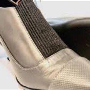 Calvin Klein Shoes - Women's Calvin Kleun Slip-On Booty heels.